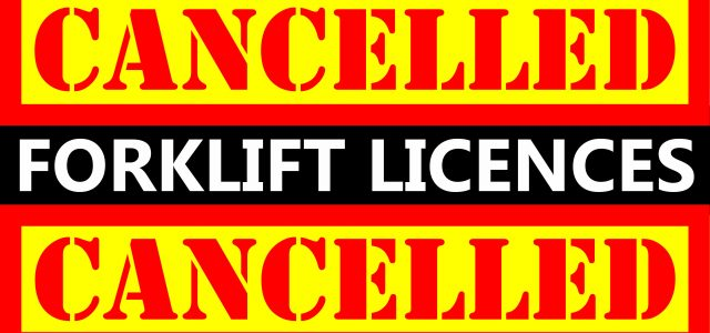 Forklift Licences Cancelled in Brisbane