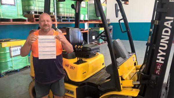Expired Forklift License