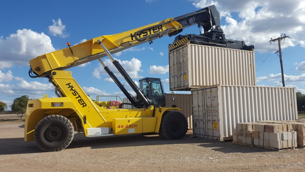 Training on a RS Reach Stacker