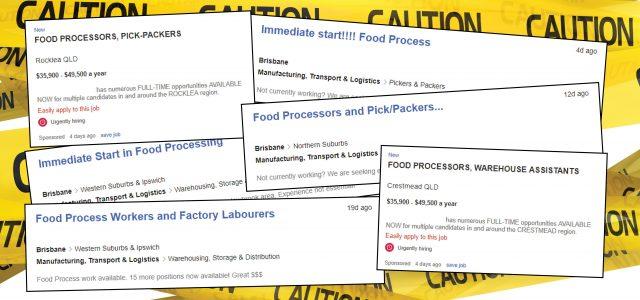 More Fake Jobs Online